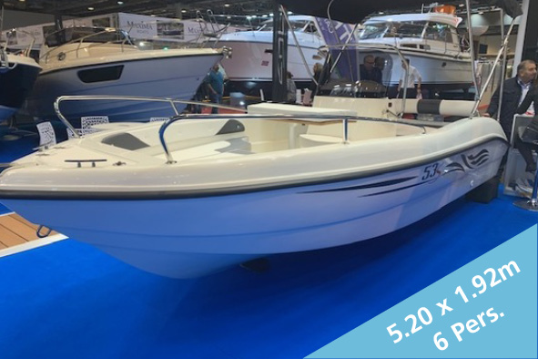Trimarchi 53 S Open  15'650.- CHF